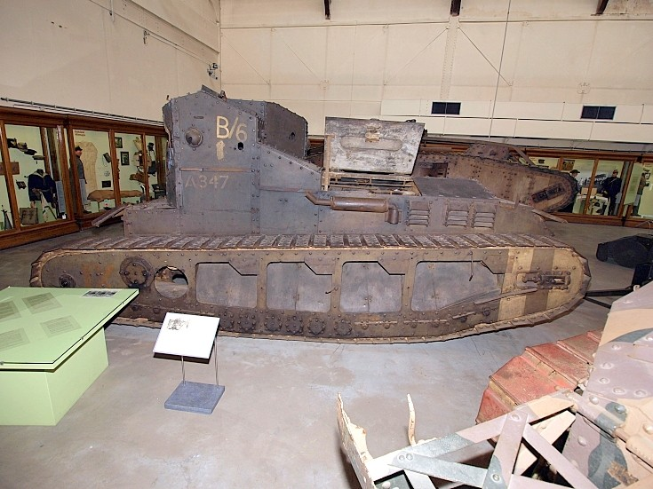Mark A / Mark IV Whippet WWI tank