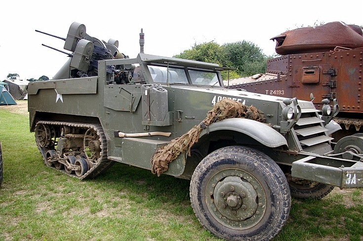 M2 White half track at Rougham