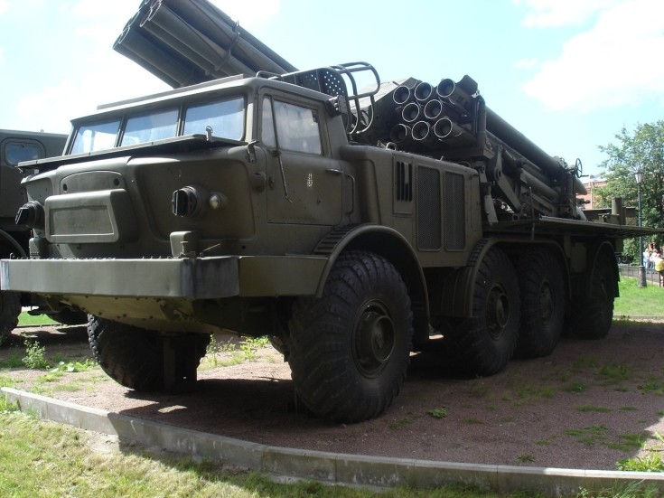 9T452 re-supply vehicle