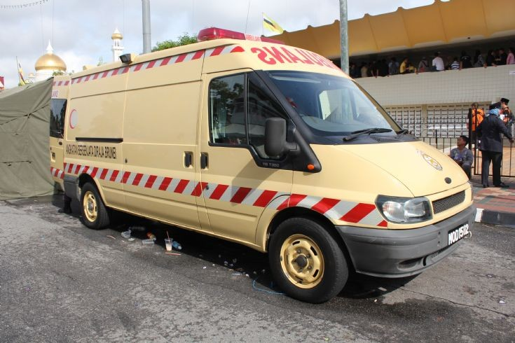 Ford Transit domestic ambulance