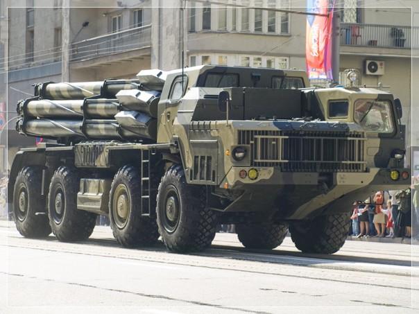 MAZ-79111, BM 9A52-2 launch vehicle