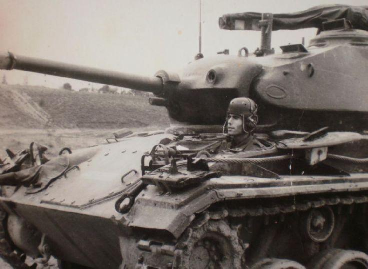 M24 chaffee in Greek Army