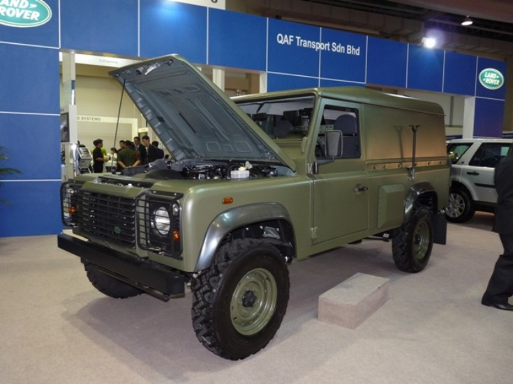 Land Rover command jeep