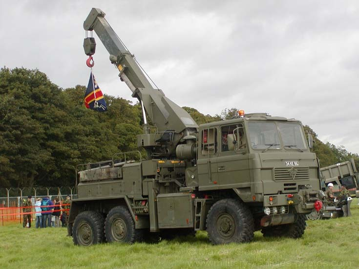 Foden recovery truck Royal Engineers