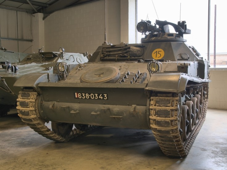 AMX VCI Armoured Personnel Carrier
