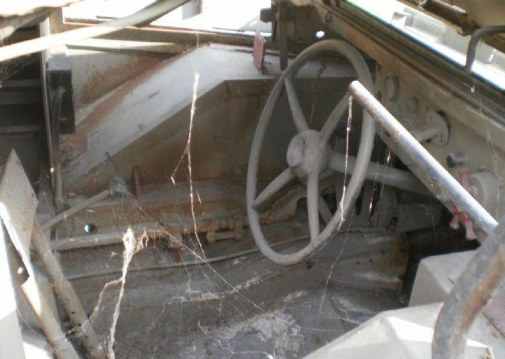 Marmon-Herrington drivers seat