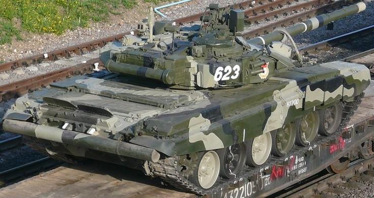 Tank T-90A No.623