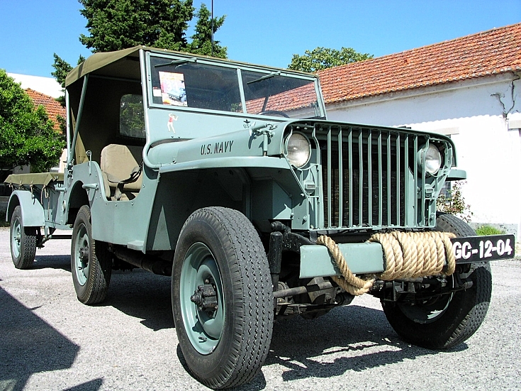 US Navy Jeep Willys