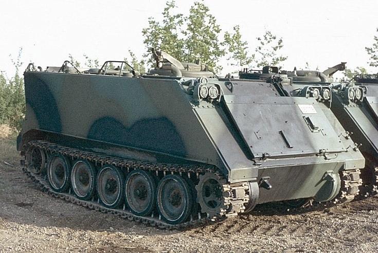 Canadian M113 APC