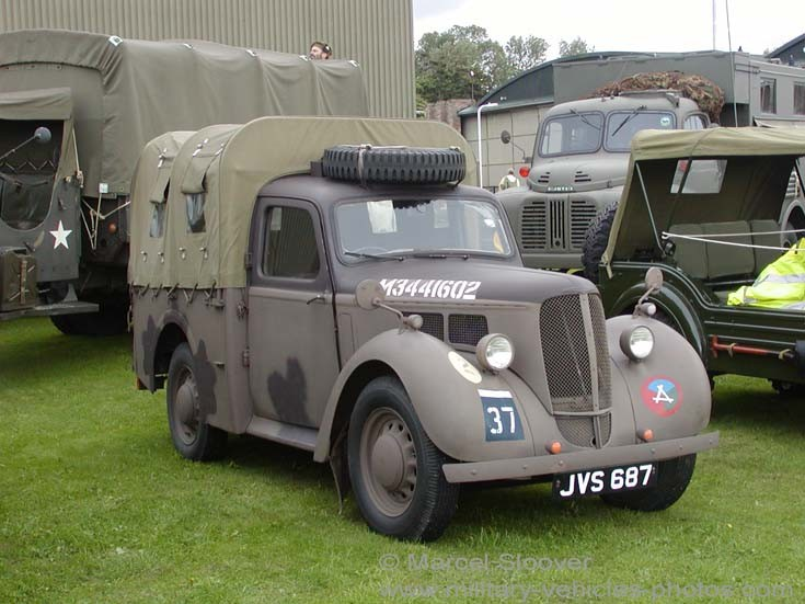 Hillman Utillity WWII vehicle