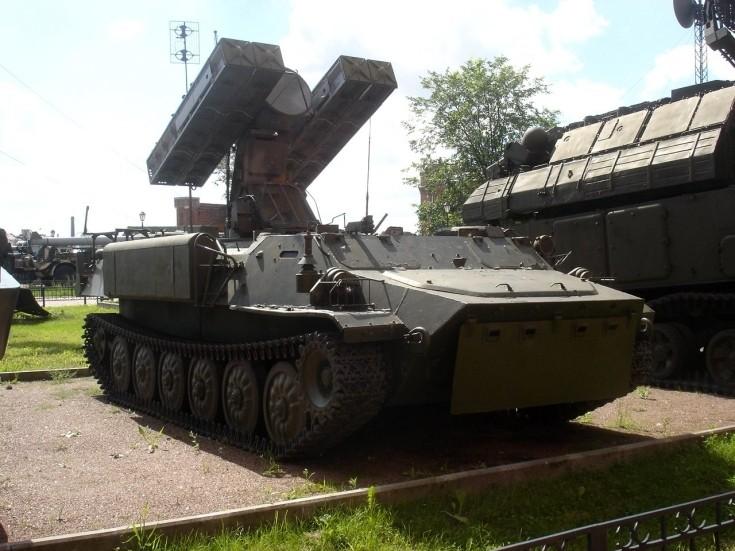 9K35 Strela-10 launcher
