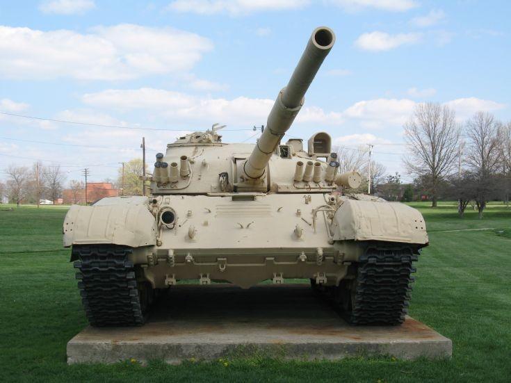 T-72 Soviet tank