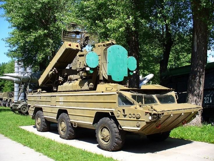 Photo of 9K33M3 'OSA-AKM'