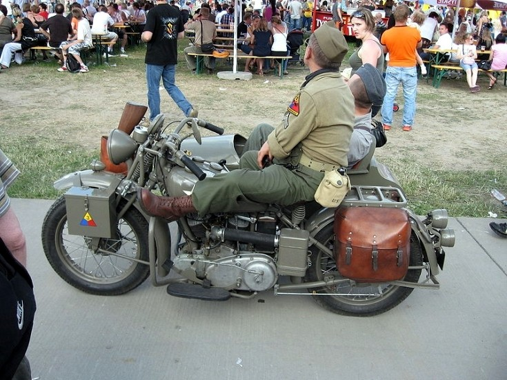 US military motorcycle