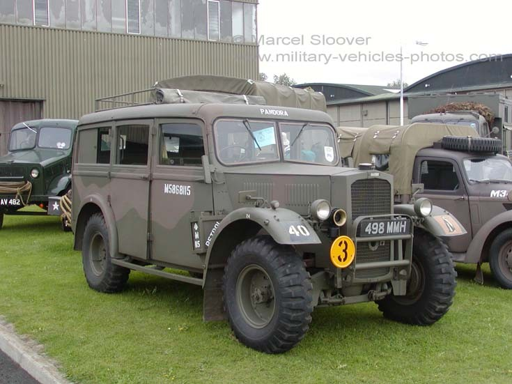 Humber Heavy Utility WWII preserved vehicle