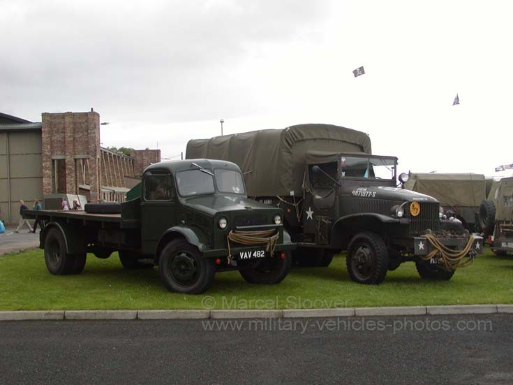 Bedford and American truck Leuchars
