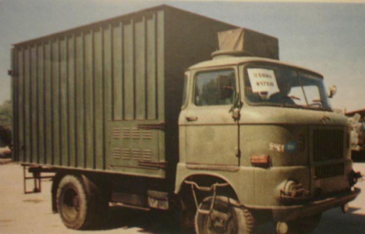 Fridge Truck IFA URAL