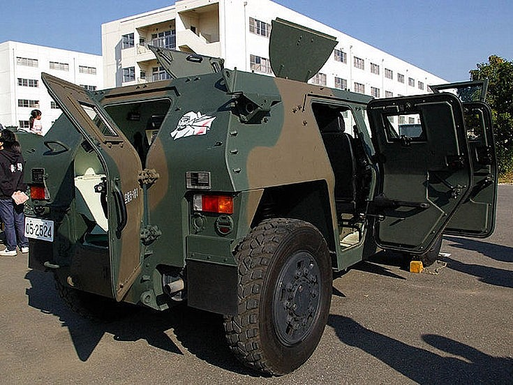 Komatsu Light Armored vehicle