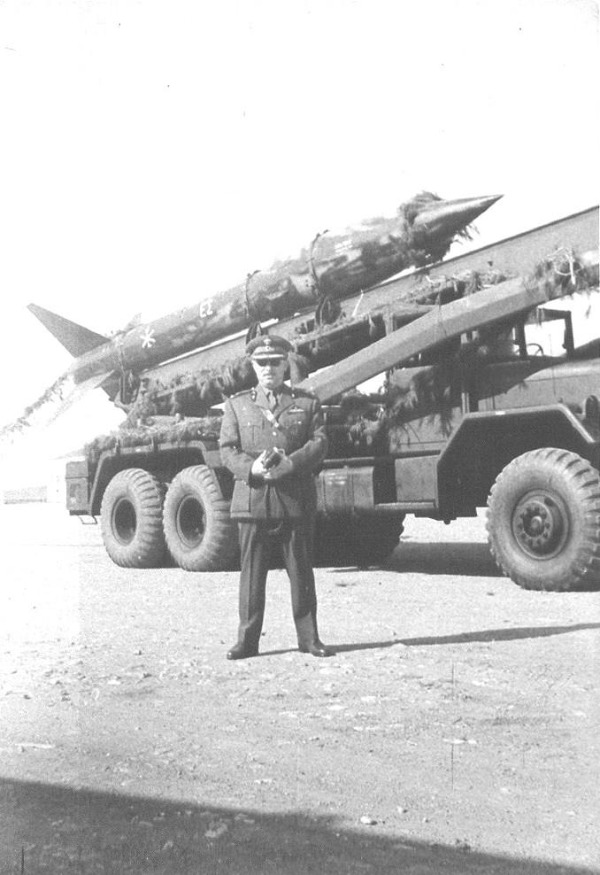 Honest John missile Launcher In Hellenic Artillery