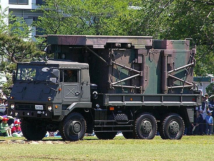 Truck mounted JTPS-P14