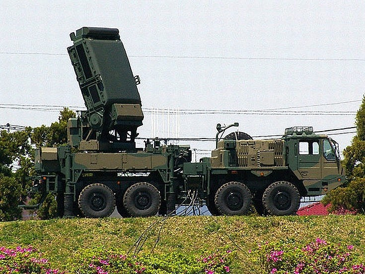 Type 03 Chu-SAM radar unit
