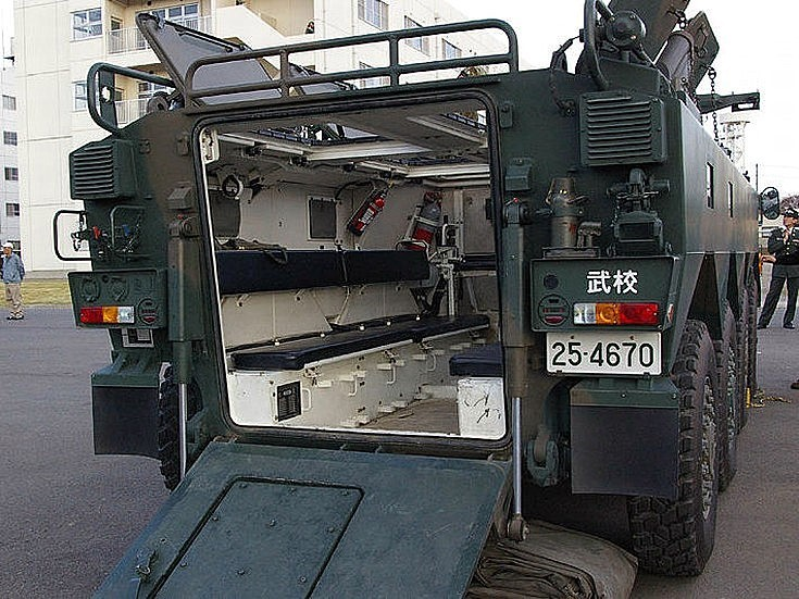 Komatsu Type 96 Wheeled Armored Personnel Carrier