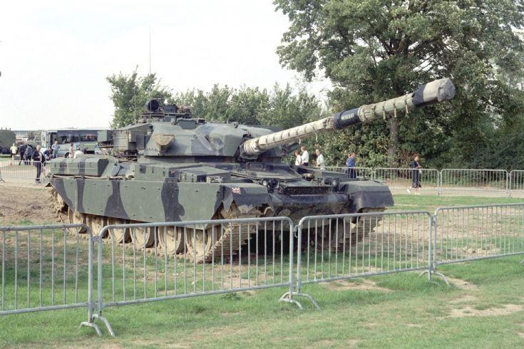 Chieftain at Duxford 1998.
