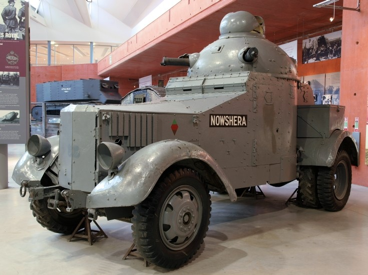 Photo of Crossley-Chevrolet Armoured Car