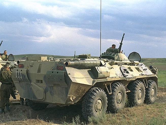 BTR-80K Kazakhstan September 2003