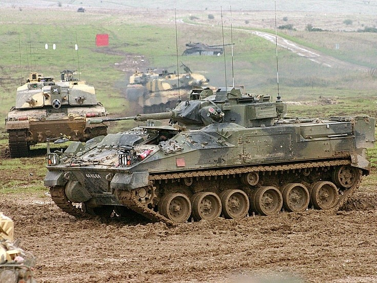 Warrior OP at Salisbury Plain
