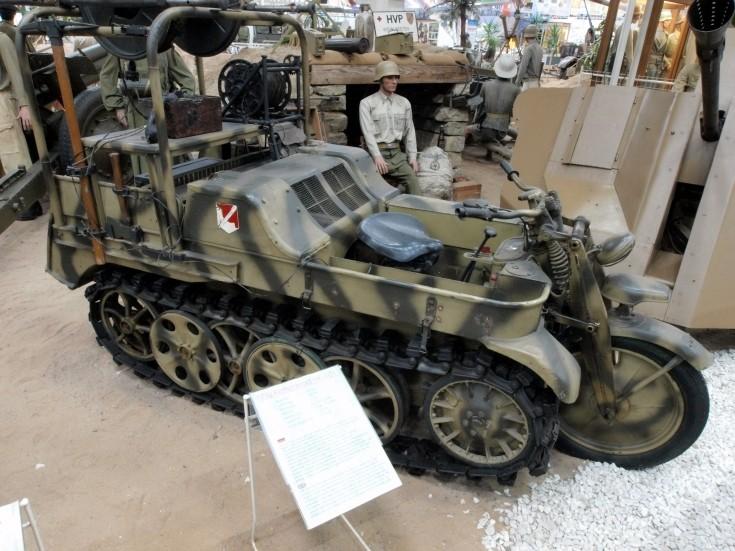 Military Vehicle Photos Nsu Kettenkrad Hk101