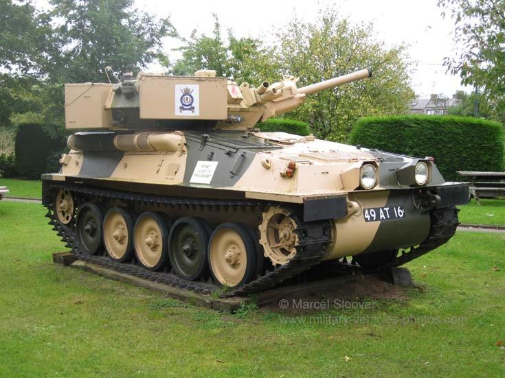 Alvis Scorpion tank 49 AT 16