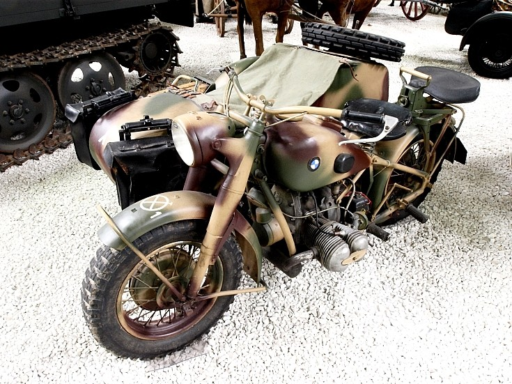 military vehicle photos - bmw r75 military motorcycle