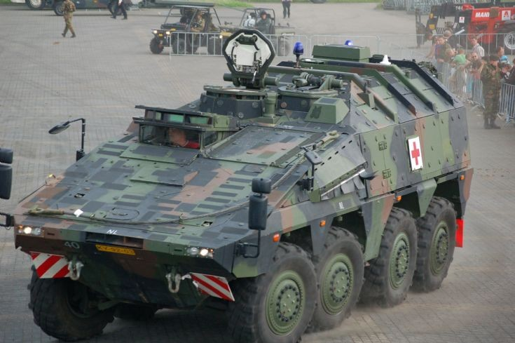 Boxer Ambulance version of the Dutch Army