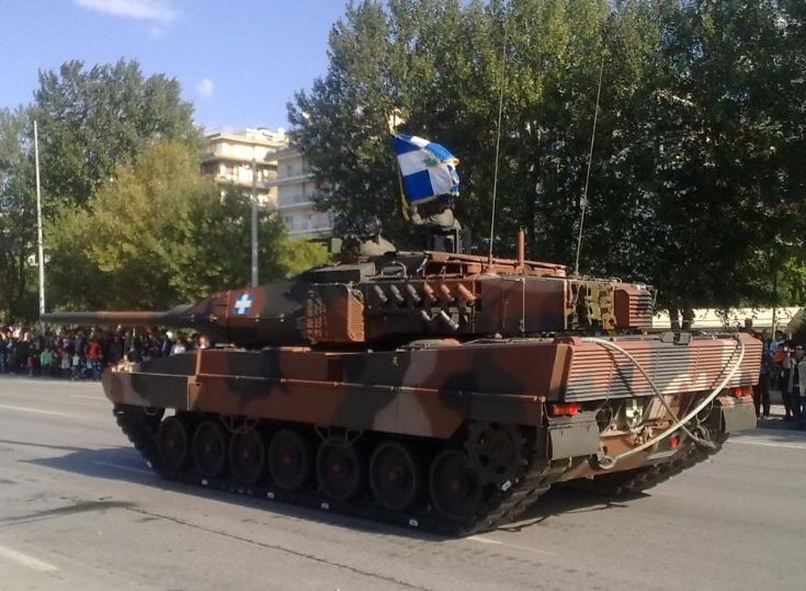 Leopard 2HEL of the Hellenic Army (GREECE)