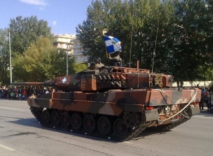 Leopard 2HEL of the Hellenic Army (GREECE)