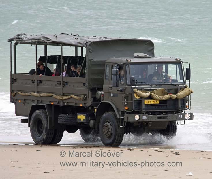 DAF 4 tons truck Dutch Army Vlissingen