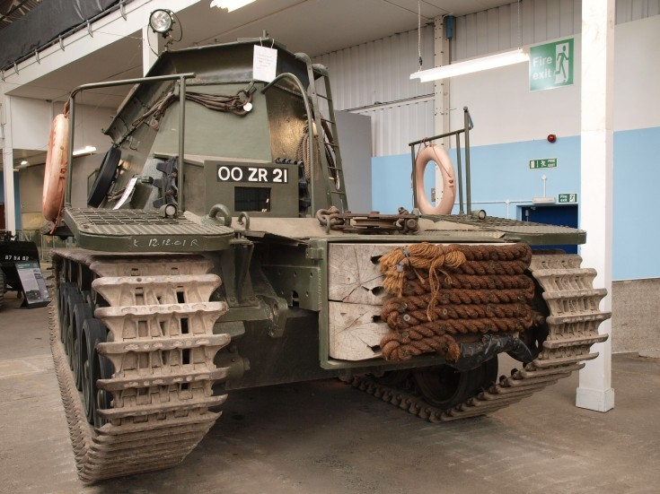 Centurion Beach Armoured Recovery Vehicle