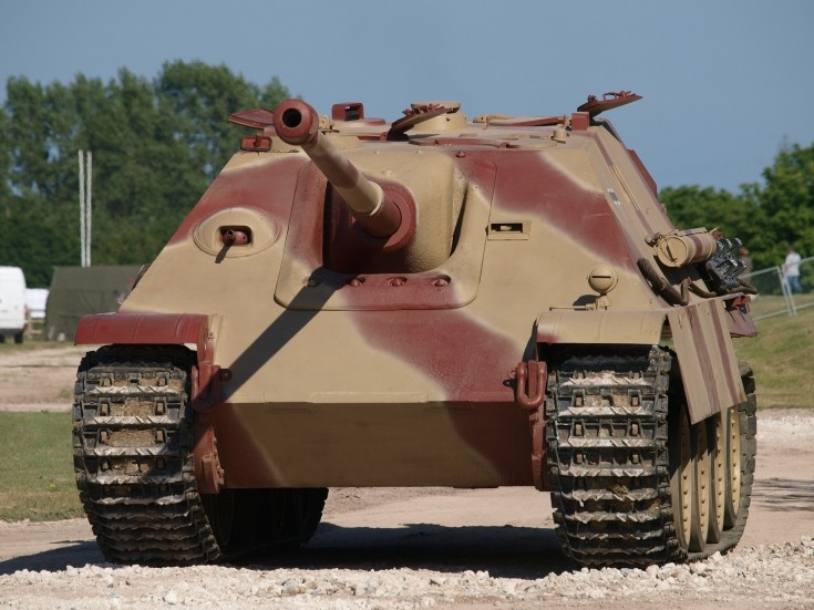 Jagdpanther at Tankfest