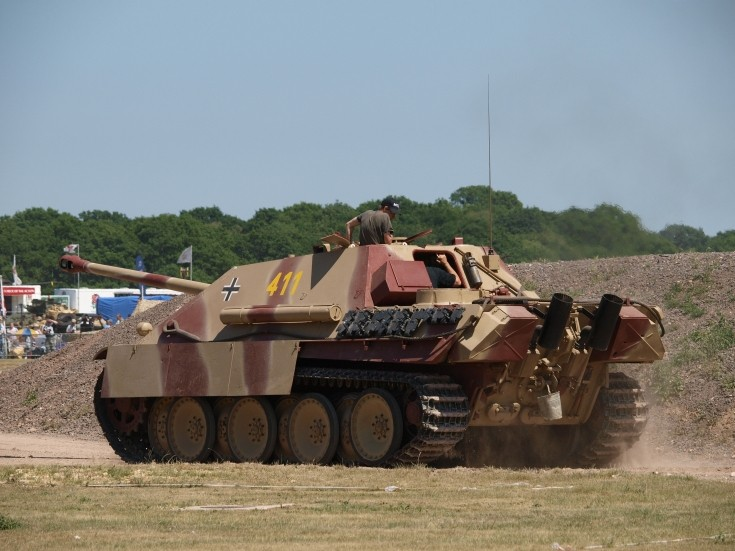 Jagdpanther SdKfz.173 at Tankfest