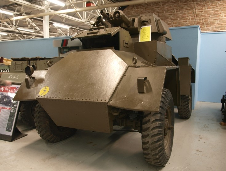 Guy MK1 Armoured Car at Bovington