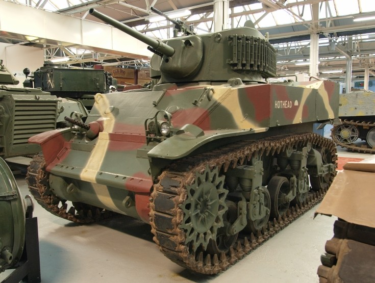 M5A1 Light Tank