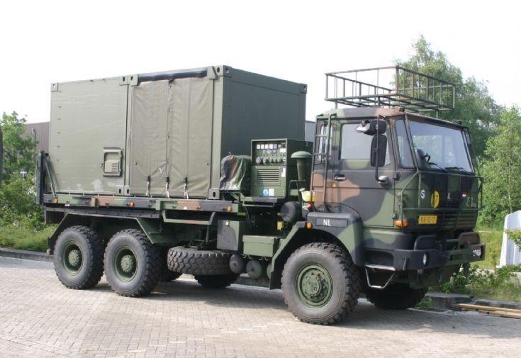 Daf 2300 YAS 2300 VBDN Dutch army