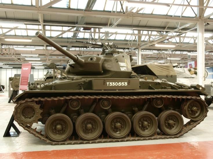 M24 General Chaffee Light Tank