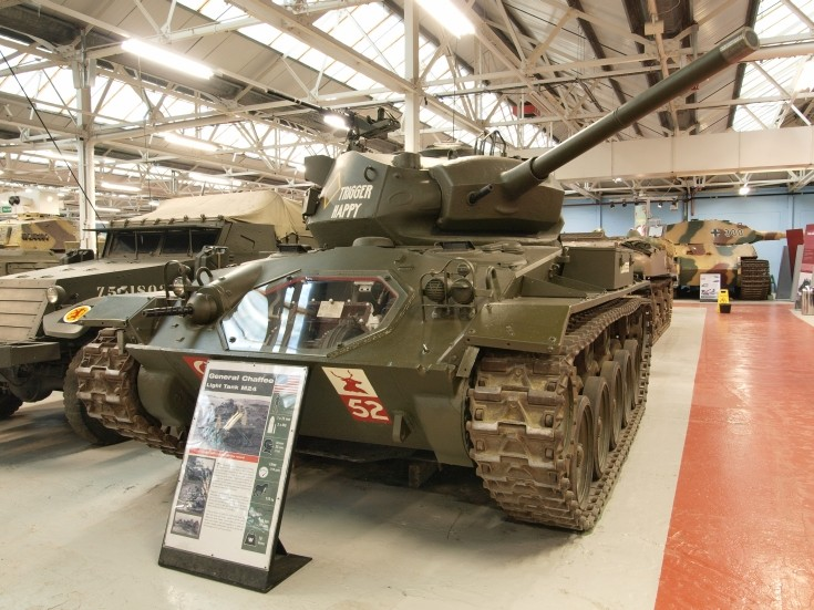 M24 General Chaffee Light Tank at Bovington