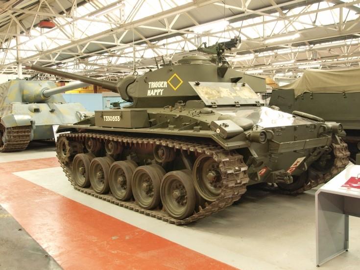 M24 General Chaffee Light Tank 'Trigger Happy'