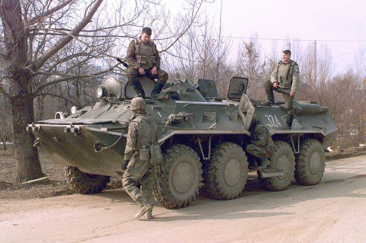 Photo of BTR-80 APC