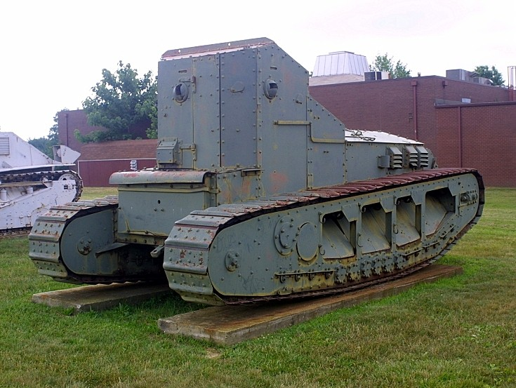Photo of Whippet tank