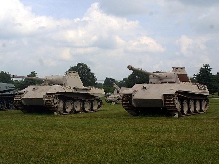 WW2 German Panthers