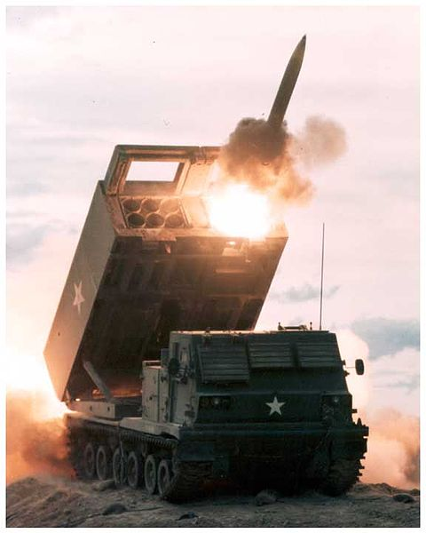 M-270 Multiple Launch Rocket System (MLRS)